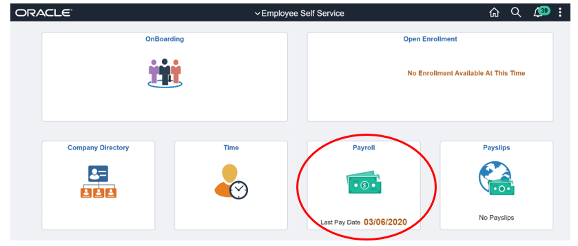 Payroll Dashboard