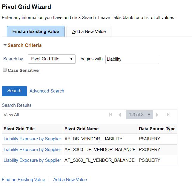 Pivot Grid Wizard